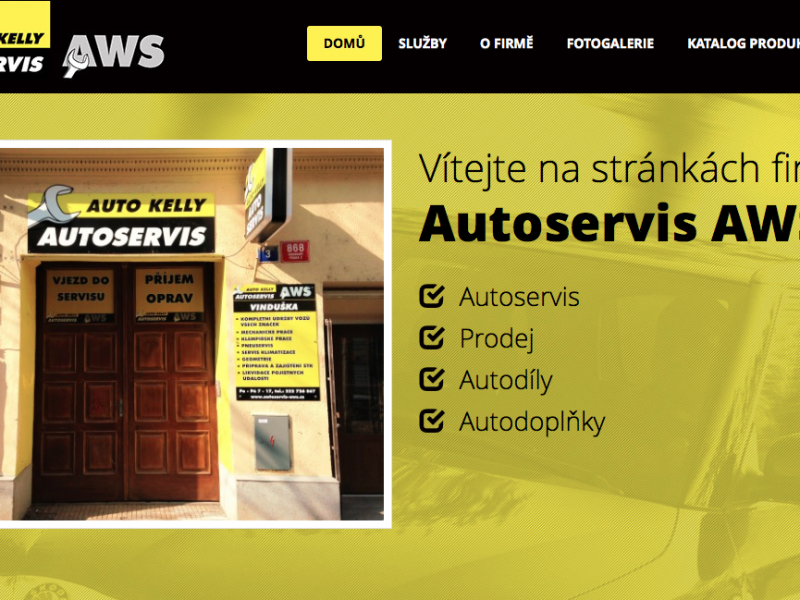 Autoservis AWS